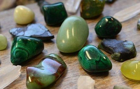 piedras verdes significado